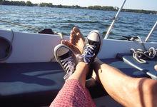 Mit Blick aufs Meer entspannen und sich den Kopf freipusten lassen ... Foto: Andrea Hesse