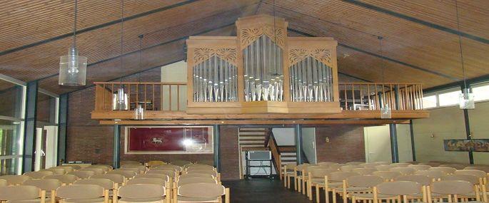 Orgel in der Elzer Kirche