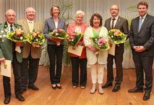Ehrennadel für Margarete Keiser und Marion Brüggemann-Behnke