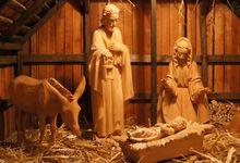 Weihnachtliche Kirche Zum Guten Hirten (Nele Negelmann)